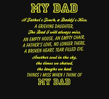 Things I Miss when I think of My Dad #9100081 T-Shirt