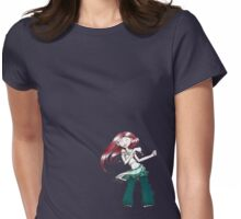 Dancing to the beat of her own drum Womens Fitted T-Shirt