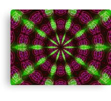 Emerald Glow Canvas Print