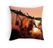 Fields Edge Throw Pillow