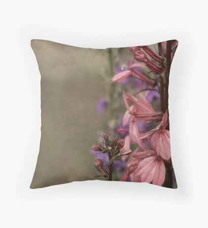 One Step Behind Throw Pillow
