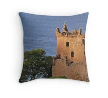 Urquhart Castle Throw Pillow