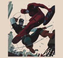Dare Devil Vs Captain America by greylock