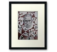 Poet of Futurism Framed Print