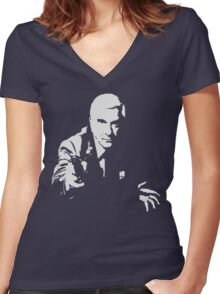 Drebin Women's Fitted V-Neck T-Shirt