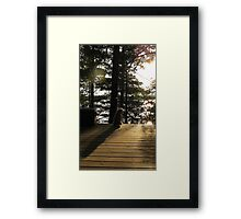 Cottage Life is Over..back to Reality Framed Print