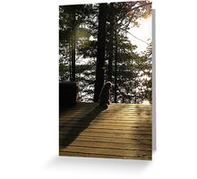 Cottage Life is Over..back to Reality Greeting Card