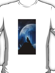 Lonely Wolf Iphone Case T-Shirt