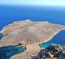 Trachia peninsular, Halki island by David Fowler