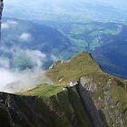 View from Mt. Pilatus, Switzerland by Kris McLennan