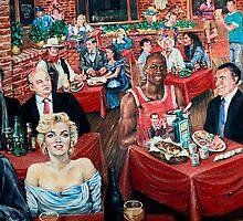 Celebrity Bar....Taken AT T-Bonz Steak House on Market St in Charleston, S.C. by photosan