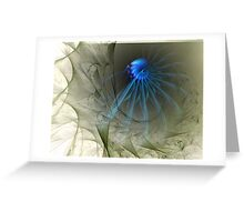 The Art of Spinning A Web Greeting Card