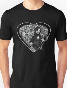 (Love Series 1) Deadpool And Mistress Death Unisex T-Shirt