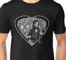 (Love Series 1) Deadpool And Mistress Death Unisex T-Shirt