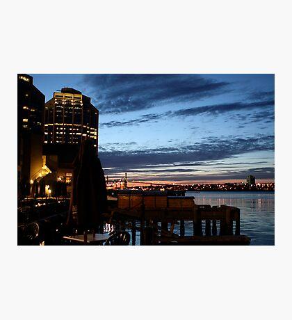 Halifax Harbour Evening Photographic Print