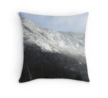 Eagle Cliff - Franconia Notch, New Hampshire, USA Throw Pillow