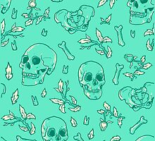 Bones and Leaves by FrederickJay