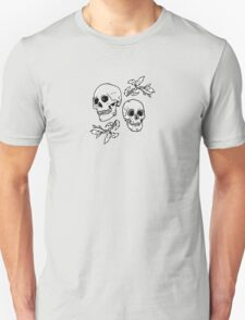 Bones and Leaves Unisex T-Shirt