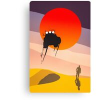 Mad Max silhouette Canvas Print
