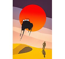 Mad Max silhouette Photographic Print
