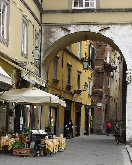 Lucca Arch by Kris McLennan
