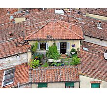 Lucca - Rooftop deck Photographic Print