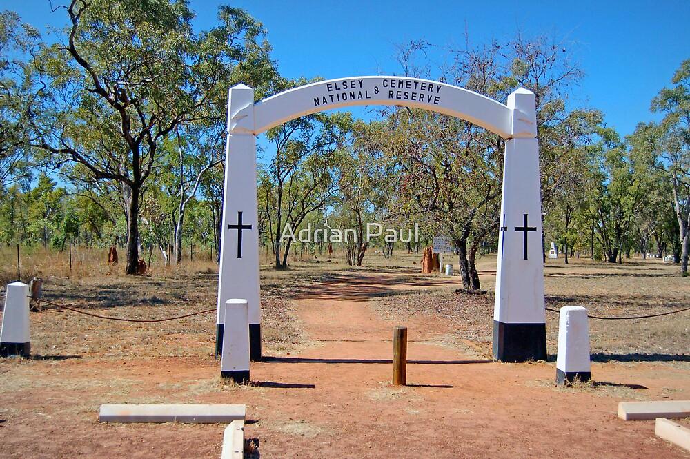 Elsey Cemetery, Mataranka, Northern Territory, Australia (Y) by Adrian Paul