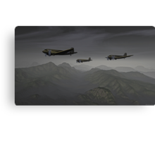 Flying the Hump Canvas Print
