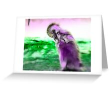 My Purple Penguin: Greeting Card