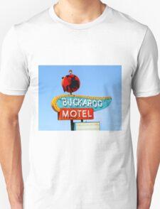 Buckaroo Motel Sign, Tucumcari, New Mexico  T-Shirt