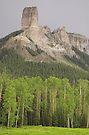 Chimney Rock, Colorado by Tamas Bakos