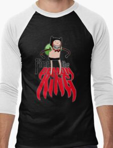 Finn the Demon King Men's Baseball ¾ T-Shirt