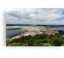 The View from St Michael's Mount Canvas Print