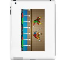 Fencing Master 16 bit HEMA tribute iPad Case/Skin
