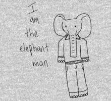 I am the elephant man. by RubyShoes