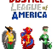 8 bit Justice Sticker