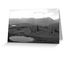 Colorado Mountain Lakes Greeting Card