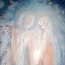 """An Angels bride""... closer  view by catherine walker"