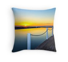 Narabeen Tidal Pool Throw Pillow