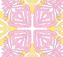 flower pod - papercut patterns Sticker