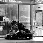 homeless in San Francisco by Ted Petrovits