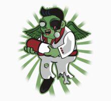 Famous Singer Impersonator Zombie by BigFatRobot