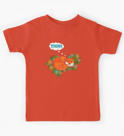 Think Outside the Fox Kids Tee