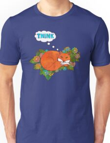Think Outside the Fox Unisex T-Shirt