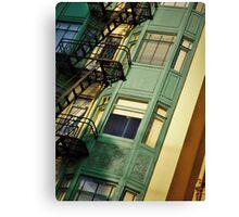 San Francisco Heights  Canvas Print