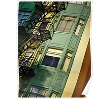 San Francisco Heights  Poster