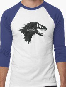 Jurassic is Coming Men's Baseball ¾ T-Shirt