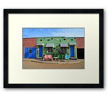 Blue Swallow Motel, Route 66, Tucumcari, New Mexico Framed Print