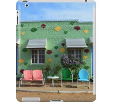 Blue Swallow Motel, Route 66, Tucumcari, New Mexico iPad Case/Skin