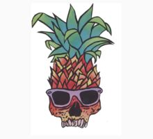 pineapple skull  Kids Clothes